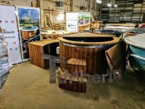 Electric outdoor hot tub Wellness Conical 18