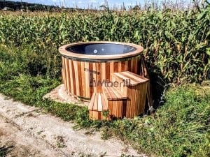 Electric outdoor hot tub Wellness Conical 19 1