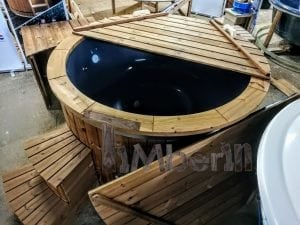 Electric outdoor hot tub Wellness Conical 2