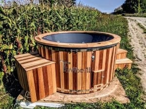 Electric outdoor hot tub Wellness Conical 25 1