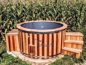 Electric outdoor hot tub Wellness Conical 27