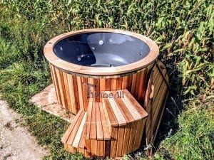 Electric outdoor hot tub Wellness Conical 3 1