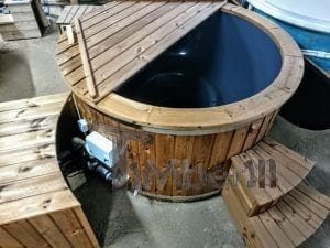 Electric outdoor hot tub Wellness Conical 3