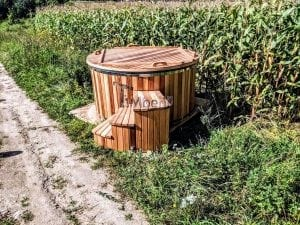 Electric outdoor hot tub Wellness Conical 32