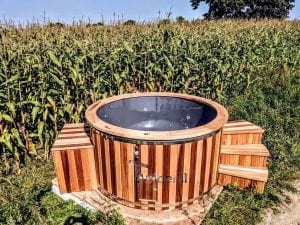 Electric outdoor hot tub Wellness Conical 5 1