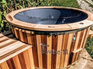 Electric outdoor hot tub Wellness Conical 6 1