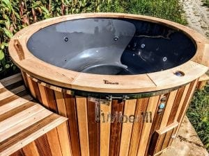 Electric outdoor hot tub Wellness Conical 7 1