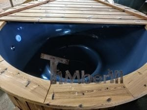 Electric outdoor hot tub Wellness Conical 7