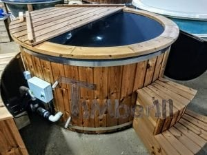 Electric outdoor hot tub Wellness Conical 8