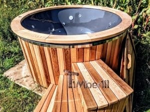 Electric outdoor hot tub Wellness Conical 9 1
