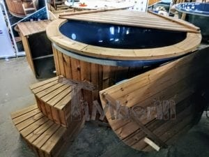 Electric outdoor hot tub Wellness Conical 9
