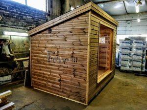 Modern Outdoor Garden Sauna 10