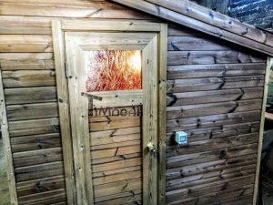 Modern Outdoor Garden Sauna 11