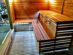 Modern Outdoor Garden Sauna 16