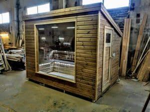 Modern Outdoor Garden Sauna 28