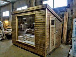 Modern Outdoor Garden Sauna 33