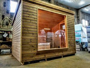 Modern Outdoor Garden Sauna 7