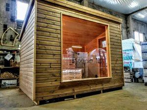 Modern Outdoor Garden Sauna 8