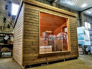 Modern Outdoor Garden Sauna 9