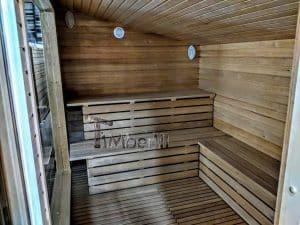 Modern Outdoor Garden Sauna 12