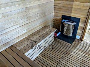 Modern Outdoor Garden Sauna 15