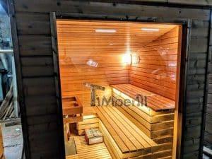 Modern Outdoor Garden Sauna 31