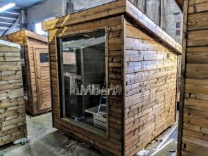 Modern Outdoor Garden Sauna 5