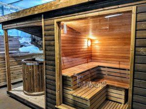 Modern Outdoor Garden Sauna 8 1
