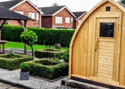 2 person outdoor sauna uk