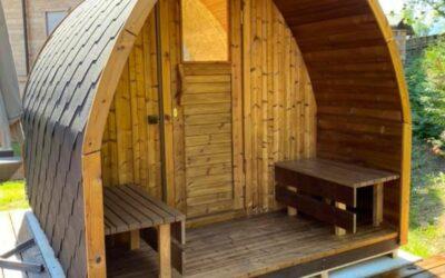 Wooden Home Sauna maintenance