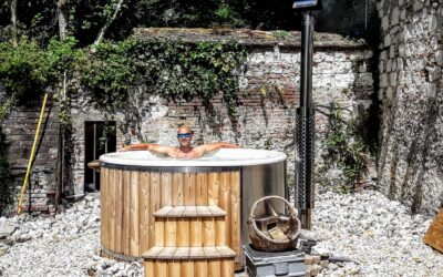 Reasons why using a Wood Fired Hot Tub can help improve your health