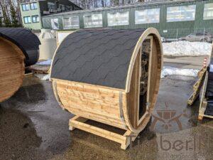 Outdoor sauna small mini for 2 4 persons 1