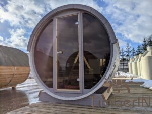 Outdoor sauna small mini for 2 4 persons 17