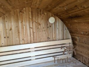 Outdoor sauna small mini for 2 4 persons 24