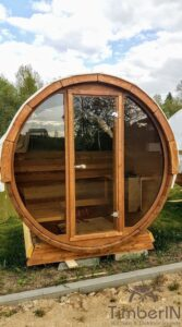 Outdoor sauna small mini for 2 4 persons 40