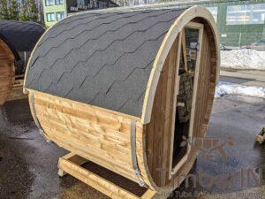 Outdoor sauna small mini for 2 4 persons 47