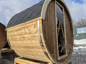 Outdoor sauna small mini for 2 4 persons 52