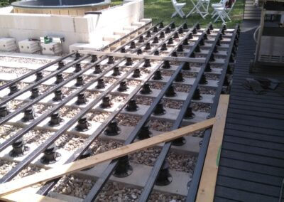 Building the outdoor terrace (1)